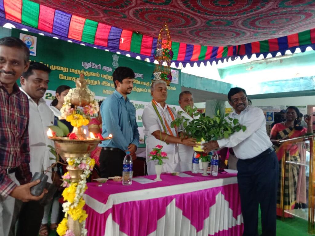 Thumbnail of Naturopathy Camp conducted in Karaikal